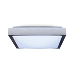 Lampa sufitowa plafon do LED 2xE27 30x30 ALU