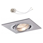 Oprawka sufitowa do LED GU10 230V CT61 inox