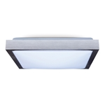 Lampa sufitowa plafon do LED 2xE27 41x41 ALU