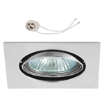Oprawka sufitowa do LED GU10 230V CT22 chrom