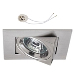 Oprawka sufitowa do LED GU10 230V CT12 inox