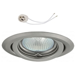 Oprawka sufitowa do LED GU10 230V CT15 inox