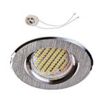 Oprawka sufitowa do LED GU10 230V CT83 inox