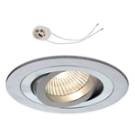 Oprawka sufitowa do LED GU10 230V CT62 inox