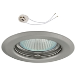 Oprawka sufitowa do LED GU10 230V CT14 inox