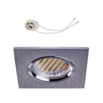 Oprawka sufitowa do LED GU10 230V CT81 inox