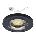 Oprawka szklana do LED GU10 230V CT74C