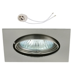Oprawka sufitowa do LED GU10 230V CT22 inox