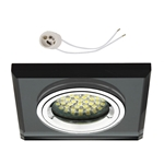 Oprawka szklana do LED GU10 230V CT73C