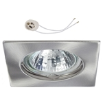 Oprawka sufitowa do LED GU10 230V CT20 inox