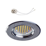 Oprawka sufitowa do LED GU10 230V CT82 inox